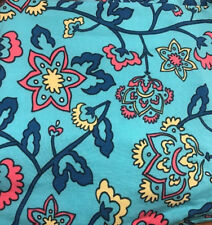 Lularoe neon turquoise yellow coral navy floral limited new Print TC2 Legings