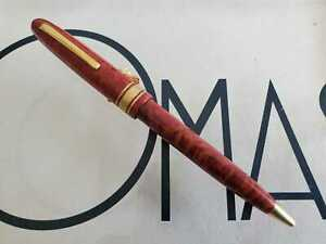 OMAS OGIVA  AM87  BALL PEN CHESTNUT WOOD *NEW FROM FACTORY CIRCA 1987**
