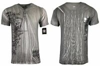 AFFLICTION Mens T-SHIRT TEE Biker REAPER SHADOW HENELY Cross MMA GYM S-2XL $64