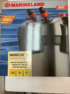 Marineland Magniflow 160 Canister Filter for Aquariums to 30 gallons BRAND NEW