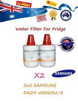 2 X SAMSUNG Fridge DA29-00003A DA29-00003B Replacement Water Filter Cartridges