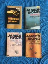 VINTAGE JAMES BOND -  4 BOOK COLLECTION FROM 1960S