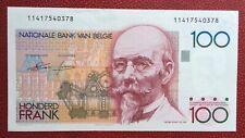 Belgique - Magnifique billet de 100 Francs 1986-89 type Beyaert
