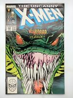 X-MEN #232 MARVEL 1988 COPPER AGE COMIC BOOK NOT SO LONG AGO!