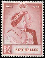 Seychelles Scott #152 SG #153 Mint Hinged  Silver Wedding