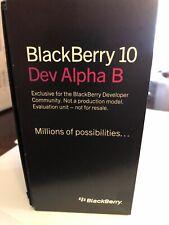 New In Box - Blackberry Dev Alpha B - Black - Rare Z10 Prototype Rim Collectors