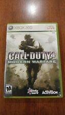Call of Duty 4: Modern Warfare (Xbox 360 2007) W/MANUAL! PLATINUM HITS DISC