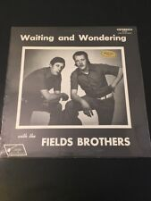 FIELDS BROTHERS waiting and wondering Bluegrass Jessup JB 138 1973 Sealed Rare