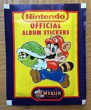 Nintendo Official Album Stickers (1992) NES & GAMEBOY ~ Vintage ~ Merlin