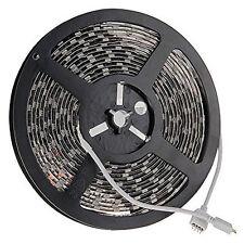 RGB LED Strip Light 5M 5050 SMD 300 LED Black-PCB / 5 Metres Bar Light Stri W7D4