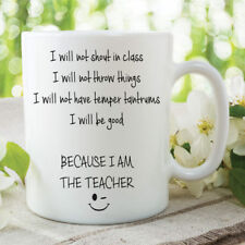 Teacher Mug Novelty Gifts Funny Present Gifts For Her Him Humour Cups WSDMUG827