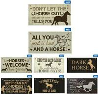 Horse Gift Hanging Plaque Cute Country Accessory Gift Sign For Horse Lovers