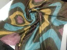 Konplott  Seiden Tuch Schal  Mehrfarbig XL Seide?