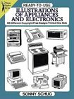 READY-TO-USE ILLUSTRATIONS OF APPLIANCES AND ELECTRONICS: By Sonny Schug **NEW** photo