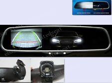 "Auto dim rearview mirror with 3.5"" display,fits Hyundai,Ssongyong,etc"