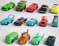 14Pcs Pixar Cars Lightening McQueen Mater Action Figures Dolls Toys Collection