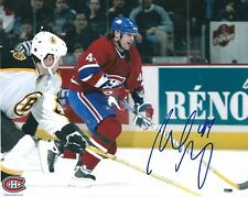 Autographed 8x10 SHELDON SOURAY Montreal Canadiens photo - w/COA