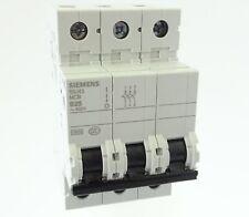 Siemens 5SJ43 D25 Sicherungsautomat 5SJ4325-8CC20 Leitungsschutzschalter 25A 3P