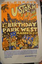 Ustorm 1st Birthday 2007 Pollock Poster