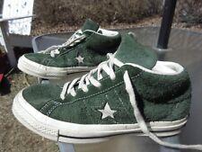 8b99d0dabd71 CONVERSE Chuck Taylor All Star Mid Green Leather   US M 4.5 W 6.5   Pre