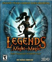 Legends of Might and Magic Pc New Boxed XP Sword Slashing Medieval World