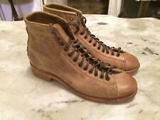 WALK OVER VINTAGE COLLECTION U.S.A.brown laced rockabilly women  boots sz 6 M