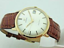 Omega Geneve in oro rosa 18kt anni 60 manuale cal 613 orologio uomo revisionato