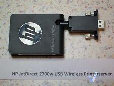 HP Jetdirect Printserver 2700w USW Wireless Printserver  J8026A
