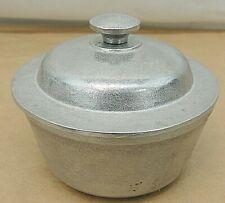 "Wilton Hammered Aluminum Covered Dish, 4-3/4"""