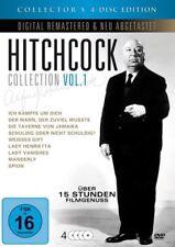 ALFRED HITCHCOCK COLLECTION VOL. 1 (4DVD mit 9 Filmen) NEU in Folie (810)
