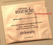 PHILOSOPHY Ultimate Miracle Worker Rejuvenating Retinol Superfood Oil 1 Pad
