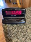 Vintage+Sharp+Electronic+Alarm+Clock+SPC026+AC+120V+60Hz+Working+Condition