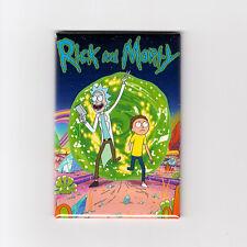 RICK & MORTY - MINI POSTER FRIDGE MAGNET (season 1 shirt art print toy funko)