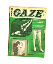 GAZE Magazine October 1961 Bill Ward Bill Wenzel DeCarlo Humorama Pinups