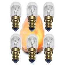 6 X 15w Ampoules de Rechange pour Himalayen Rock Sel Lampes Petit Vis Edison Ses
