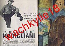 Paris Match n°475 du 17/05/1958 Jacqueline Huet Modigliani Indus