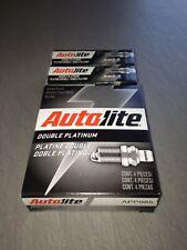 SIX(6) Autolite Double Platinum APP985 Spark Plug SET **$2 PP FACTORY REBATE!**