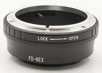 FD - NEX Lens Mount Adapter Objektivadapter -- Canon FD Objektive an Sony NEX