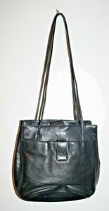 Stone Mountain Woman's Fashion Bag Handbag Leather Black 25 x 22 x 5 cm FAST