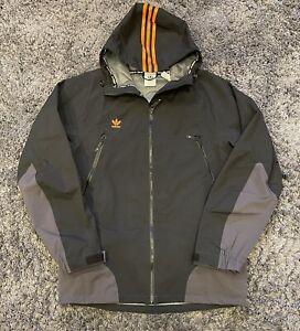 Adidas 20K 3L Black Orange Snowboarding Jacket - Men's Size Large $280 Retail