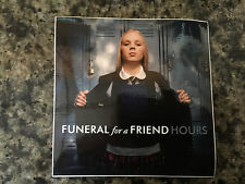 Funeral for a Friend sticker promo for cd Hours