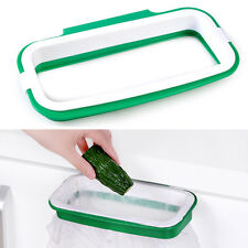 Kitchen Hanging Garbage Rubbish Trash Storage Bag Holder Bracket Stand Rack