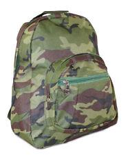 Boys Camo Camouflage Toddler Backpack Mini Small Preschool Green