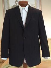 Stunning NEW Hugo Boss Mens Rossellini Movie Brown Stripe Suit Sz 40 R