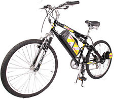 Rayos 8-Speed Full Suspension Electric Bicycle, 600 Watts
