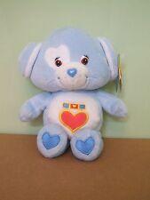 "Care Bear PlushLOYAL HEART DOG 8"" Bean Bag w/Hang Tag   2003 GREAT SHAPE"