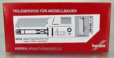 Herpa 083782  Meiller-Kippmulde für 8*4 LKW Inhalt: 2 Stück