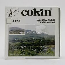 """COKIN """"A"""" SERIES A231 UV Filter - ELIMINATE COOL COLOR CASTS IN IMAGES - NOS"""