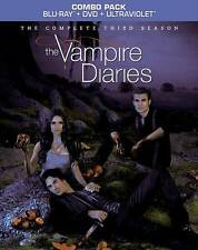 The Vampire Diaries: The Complete Third Season (Blu-ray, 2012) in MINT CONDITION