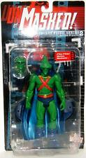 DC Direct Unmasked Secret Files Martian Manhunter Series 2 MOC Action Figure